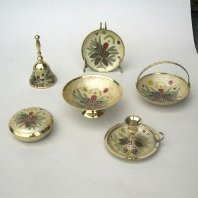 India Overseas Trading Corporation BR31331 - Brass Christmas Assortment