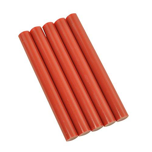 Red Colored Glue Sticks 7/16'' X 4'' 5 lbs by GlueSticksDirect.com (Image #1)