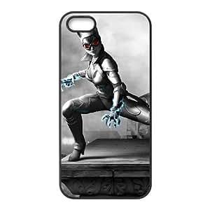Catwoman funda iPhone 5 M5A27G4OU caso 5s funda 1V56VB negro