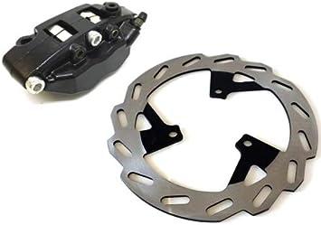 Bremszange Bremssattel Bremsbeläge Bremsscheibe Vorne Für Peugeot Speedfight 3 2 Takt Auto