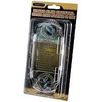dragonplus PSP 2Ultra Slim Funda y soporte vidrio 2en 1–Sony PSP;
