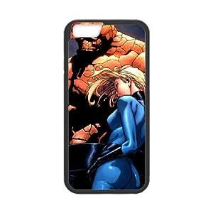 Fantastic Four iPhone 6 Plus 5.5 Inch Cell Phone Case Black pqkm