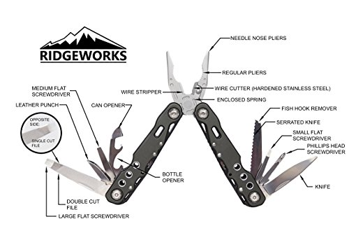 Ridgeworks-Multitool-16-in-1-Locking-Premium-Utility-Tool-for-Camping-Fishing-Hunting-CERT-EDC-DIY