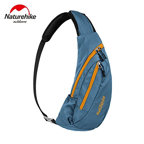 Wasserdicht Schultertaschen Outdoor Chest Bag Camping Bosom Bag (Fullblue)