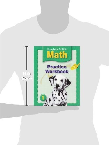 Math Worksheets houghton mifflin math worksheets grade 5 : Houghton Mifflin Math: Grade 1, Practice Workbook (Houghton ...