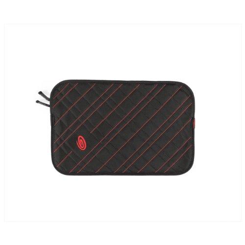 Timbuk2 Plush Layer Laptop Sleeve, Black/Bixi Red, 13P