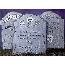 Tombstone Yard Signs (Funny Tombstones)