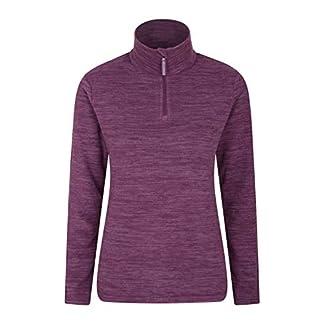 Mountain Warehouse Snowdon Womens Full Zip Fleece - Lightweight Ladies Sweater Top, Breathable Baselayer, Antipill… 2
