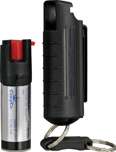 Smith & Wesson Pepper Shield Quick Release Pepper Spray Keychain (Smith & Wesson Chain)