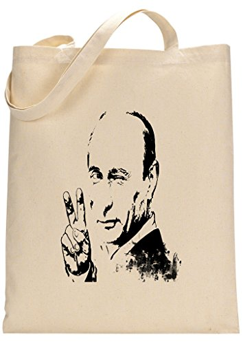 President Putin Peace Custom Made Tote Bag