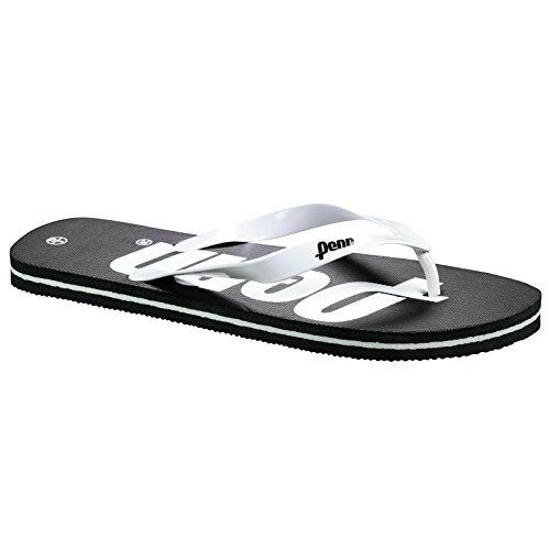 Penn Logo Flip Flops Svart / Vit