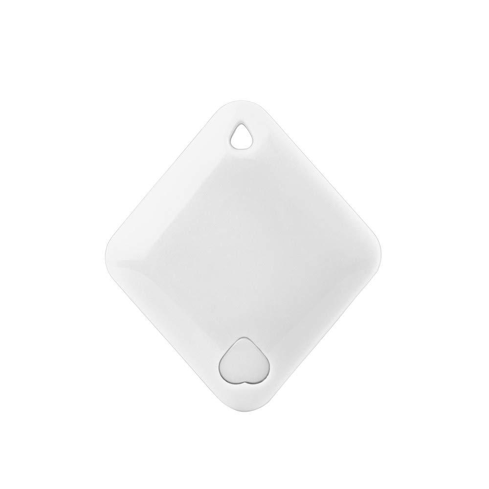 MatureGirl Mini GPS Tracker, Car Motor GPS Tracker Kids Pets Wallet Keys Alarm Locator Realtime Finder Device (White)