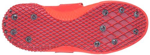 metallic solar argenté Red blanc Shoe silver Adidas Rouge Javelin Performance white Running Adizero wS0S8P4qp