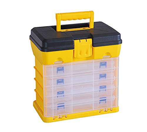 G_Forge HL30120-A 5 Drawer Heavy Duty Plastic Compartment Utility Organizer And Storage Tool Box Review