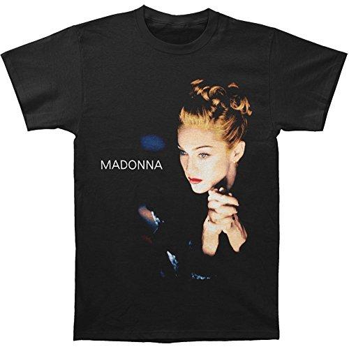 Licensed Madonna Men's Folded Hands T-shirt. L, XL