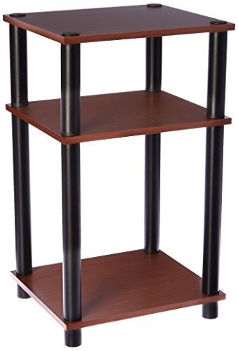 (Momentum Furnishings Cherry Telephone Stand, Brown)