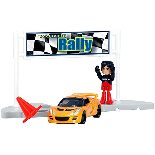 Tomica Hypercity Rescue World Rally Car - Rallycross Lotus Exige S
