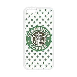 iphone6 4.7 inch case (TPU), starbucks Cell phone case White for iphone6 4.7 inch - FGHJ8972249