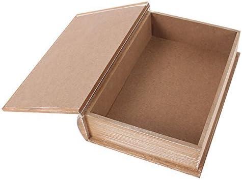 Caja decorativa mano de Hamsa con forma de libro caja de madera en ...