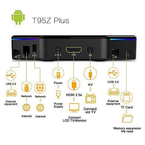 T95Z Plus Android 7 1 TV Box 3GB RAM/ 32GB ROM, Amlogic S912