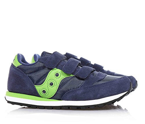 SAUCONY SC53786 JAZZ TRIPLE HL blaue Schuhe Reiß Babys Blu - verde