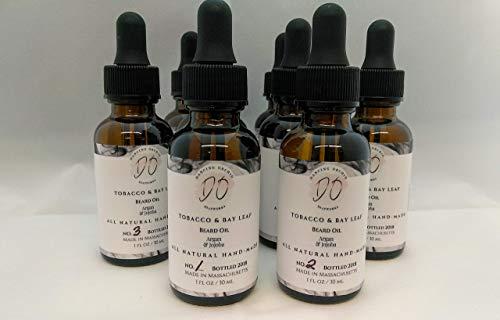 - Tobacco & Bay Leaf Moisturizing Beard oil l Condition l Bay Leaf l Cedarwood l Bergamot l Argan l Jojoba l