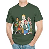 Unisex T-Shirts Cartoon Disney's Recess Classic Characters Graphic Tee for Kids and Teens white7 Medium