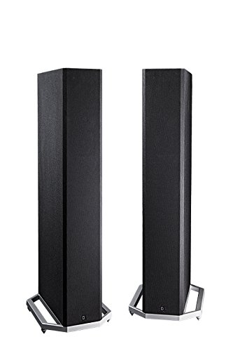 Definitive Technology BP9020 High-Performance Tower Speaker with Integrated 8 inch Powered Subwoofer- Pair