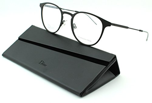 Christian Dior Cd Eyeglasses Frame (Dior 0203 Unisex Metal Round Eyeglasses (Brown Soft Frame (0GBH),)