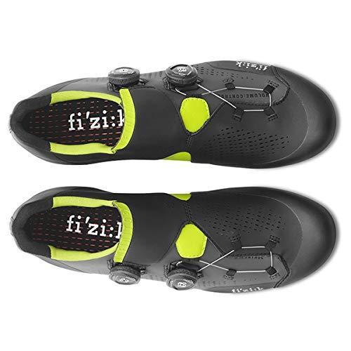 Infinito 2018 Grey X1 Chaussures Noir yellow Vtt Fizik K13TcuJlF
