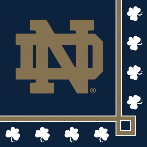 Notre Dame Fighting Irish Beverage Napkins, 20-Count -