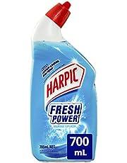 Harpic Fresh Power Liquid Toilet Cleaner Marine Splash, 700, Marine Splash