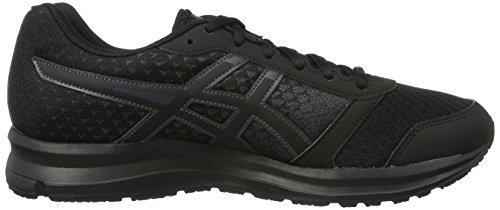 Asics Patriot 8 W, Zapatillas De Running Mujer Negro (Onyx/Black/Dark Steel)