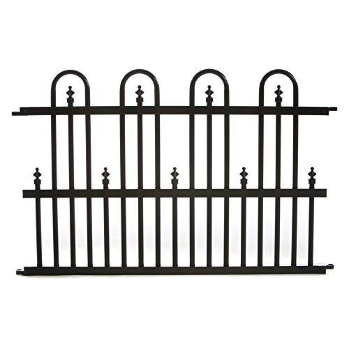 wrought iron garden fencing - 4