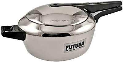 Futura Stainless Steel Pressure Cooker, 5-1/2-Litre from Futura