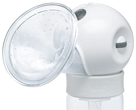 Nuk Luna Elektrische Milchpumpe Brustpumpe wei/ß