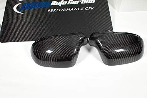 Calotte in carbonio per specchietti Q3 A3 A4 A6 A8 RSQ3 S3 S4 RS4 S5 RS5 S6 RS6 S8