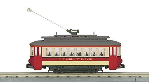 MTH 30-5139 NYC Bump-n-Go Trolley