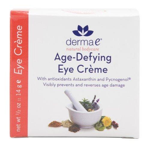 Derma E Trotzende Eye Crème mit Astaxanthin und Pycnogenol, 0,5oz (14g) (2Stück)