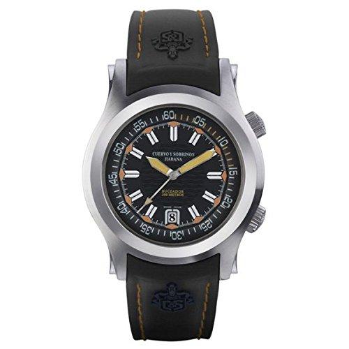 Reloj Caballero Cuervo y Sobrinos Robusto Buceador C2806.1NA: Amazon.es: Relojes
