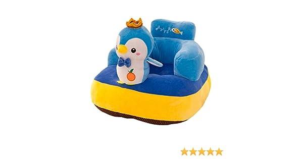 qq粉猪款 Azul Hualieli Sof/á Infantil para ni/ños para Aprender Sentarse Silla de ni/ños para el sof/á de Aprendizaje Cojines de Cama para Suelo