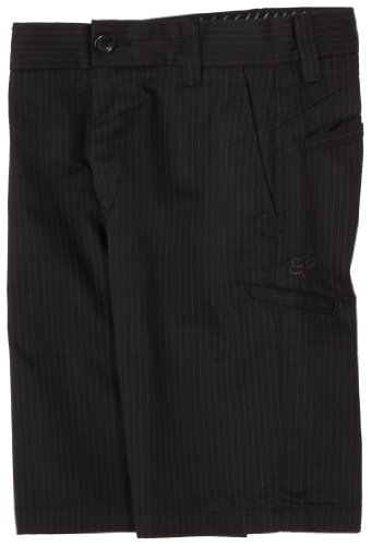 FOX Big Boys' Essex Short,Black Pinstripe,W25 ()