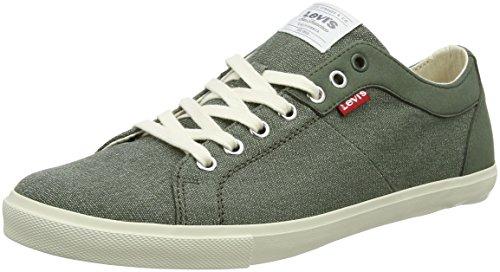 Levi's Herren Woods Sneaker Grün (Dark Khaki)