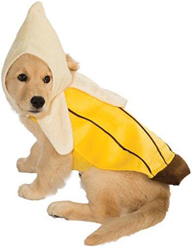 Monkey Dog Costumes For Halloween (Rubie's Banana Pet Costume,)