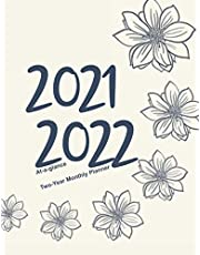 Two-Year Monthly Planner 2021-2022, At-a-Glance: Color Me Dahlias 10