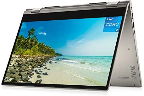 2021 Newest Dell Inspiron 14″ 2-in-1 HD Touchscreen Laptop, 11th Gen Intel Core i5-1135G7, 32GB DDR4 Memory, 512GB PCIe SSD, Webcam, Online Class Ready, HDMI, WiFi, Win10 Home, Dune Silver