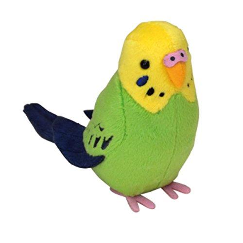 Kotri collection stuffed clip Green Seikei Parakeet 801670