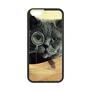 Cat Monocle Glasses iPhone 6 4.7 Inch Cell Phone Case Black NiceGift pjz0035059606