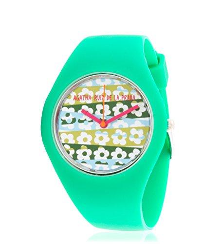 Agatha Ruiz De La Prada - Reloj analógico Polo de Flores - AGR117: Amazon.es: Relojes