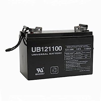 UB121100 Group 30H 12V 110Ah Solar Forklift Lighting Deep Cycle Battery